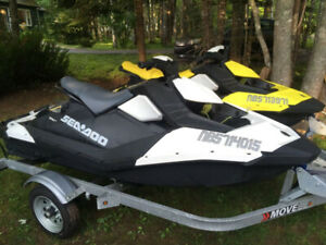 Two 2017 Seadoo Sparks 900 HO (low hours!)