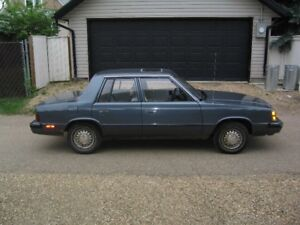 1986 Plymouth Reliant K car with 98,000km