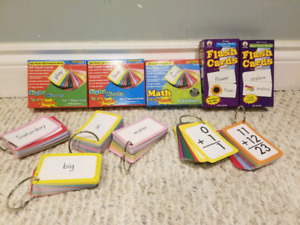 Kids Sight Words & Math Flash Cards