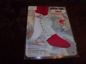 STRAP LOK ANKLE BRACE NEW IN PACKAGE SIZE SMALL WHITE COLOUR