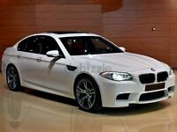 ★ALPINE WHITE 2013★ BMW M5 4.4 DCT F10 ★ FULLY LOADED ★ RED LEATHER ★ FULL SERVICE HISTORY★HUGE SPEC