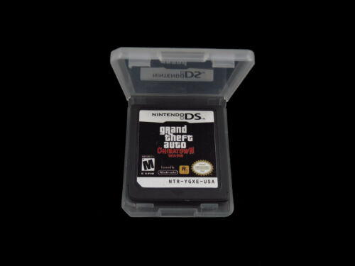 Grand Theft Auto: Chinatown Wars Version Game Card for 3DS,N