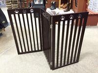 Solid Wood Pet Gate