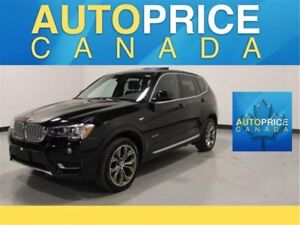 2017 BMW X3 xDrive28i NAVIGATION|PANORAMIC ROOF|