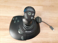 Microsoft Sidewinder Precision Pro Joystick with USB Adapter