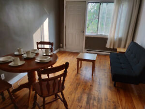 Furnished apartment next to Namur metro, with utilities and WiFi