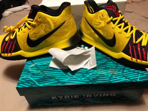 Nike Kyrie 3 Bruce Lee Mamba Mentality **sz13** brand new in box