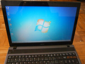 ACER ASPIRE 5250 LAPTOP-WEBCAM-4 GB RAM-250 HDD-WIN 7