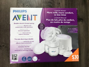 BNIB PHILIPS Avent Comfort Double Electric Breast Pump