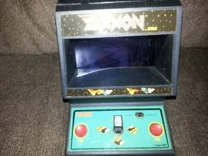1982 Coleco Zaxxon mini arcade tabletop,great shape