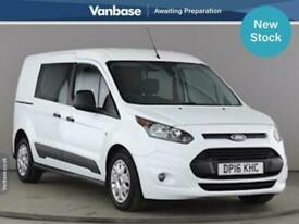 2016 Ford Transit Connect 1.5 TDCi 120ps Long Wheelbase L2 H1 5 Seat Double Cab
