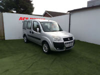 2008 58 FIAT DOBLO 1.4 8v DYNAMIC MPV WHEELCHAIR ACCESS,82000 MILES WITH S/H