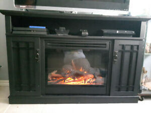 Fireplace Entertainment Stand.