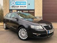 2010 VOLKSWAGEN PASSAT ESTATE 2.0 TDI CR 170 DSG HIGHLINE, 1 OWNER FROM NEW!