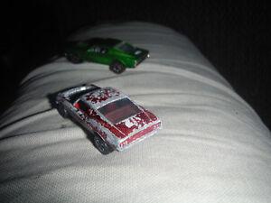 Hot Wheels Redline met. red Custom Mustang HK