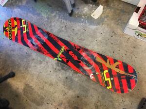 156 lib tech skate banana snowboard