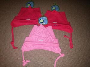 3 Gagou Tagou Toques for baby/toddler girls, BNWT