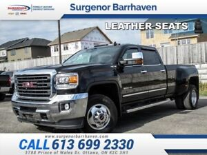 2015 GMC Sierra 3500HD SLT/DRW  - Leather Seats