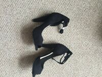 ASOS black sandals size 3