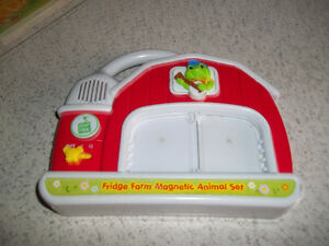 Leapfrog Fridge Farm Animal Magnet PickUp In Marmora Belleville Belleville Area image 5