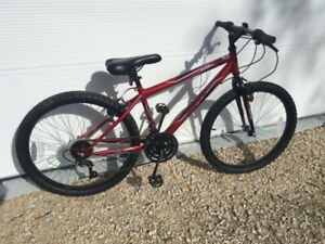$105 Bike Huffy Granite Youth Red Bicycle