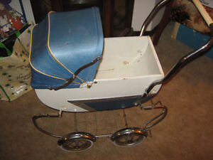 Antique kids toy carriage