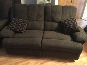 Chair and love seat recliners