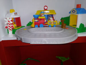 Jouet: train musical Little People de Fisher Price