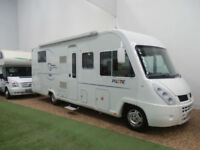 PILOTE EXPLORATEUR 730 FGJ / A CLASS / 2 SINGLE BEDS / GARAGE / SORRY NOW SOLD
