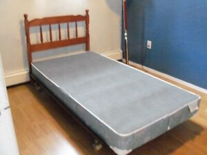 Single bed frame and Headboard only