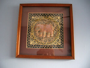 Elephant Embroidery Decoration