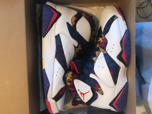 """Air Jordan 7 Retro """"Nothing But Net"""" ONLY WORN ONCE $180"""