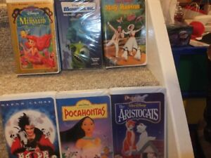 COLLECTIBLE VHS DISNEY MOVIES AND MORE