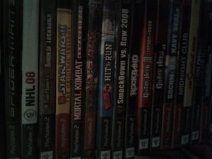 PS2 GAMES! and more..