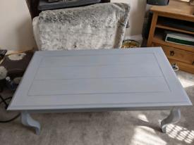 Beautiful solid pine Grey coffee table