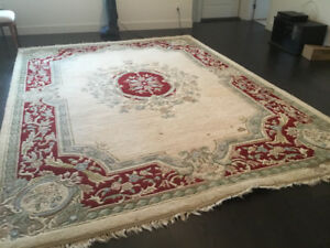 British India Rug Approx 9 ft X 12 ft