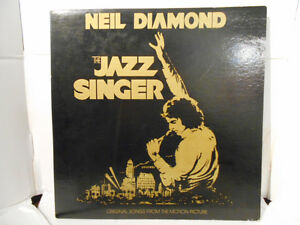 The Jazz Singer - Neil Diamond (Vinyl LP Record) (1980)