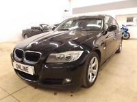 BMW 3 SERIES 320D EFFICIENTDYNAMICS, Black, Manual, Diesel, 2010