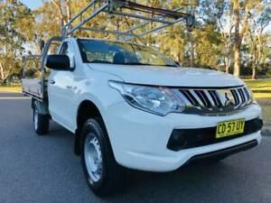 FINANCE FROM $53 PER WEEK* - 2015 MITSUBISHI TRITON GLX DIESEL UTE Parramatta Parramatta Area Preview