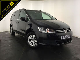 2014 VOLKSWAGEN SHARAN SE TDI 7 SEATER MPV 1 OWNER VOLKSWAGEN HISTORY FINANCE PX