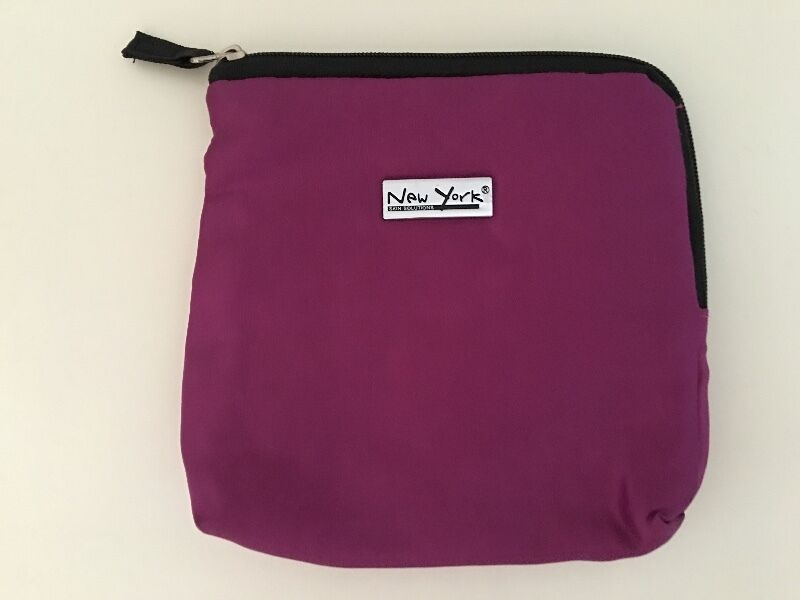 New York skin solution pouch