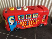Vtech Alphabet Playtime Bus