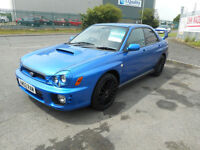 SUBARU IMPREZA WRX TURBO 4 DOOR MANUAL PETROL 52 REG