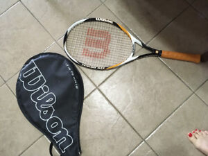squash racket with bag for cheep