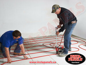 Why heat the concrete when all you need to do is insulate? Kitchener / Waterloo Kitchener Area image 9