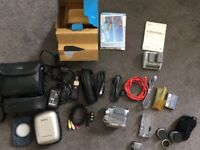 Sony Handycam Camcorder DCR-HC42E with lots of accessories