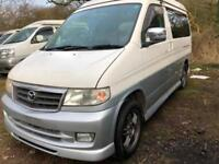 1999 Mazda BONGO AFT 4 BERTH BRAND NEW FULL SIDE CAMPER CONVERSION 2.5 V6 PETROL