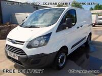 2014 14 FORD TRANSIT CUSTOM SWB, ONE OWNER, FULL STAMPED HISTORY, GLEAMING PAINT