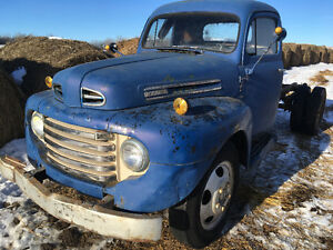 1950 Ford f135 2 ton with Marmon Herrington 4x4 conversion