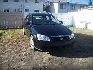 2005 Kia Spectra LX Sedan,  106123 km. Automatic